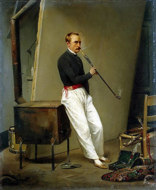 Horace Vernet - Self-Portrait [1835]