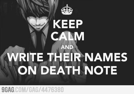 Just Write Their Names..