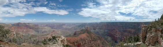 Grand Canyon, North Rim, Point Imperial (Mount Hayden)