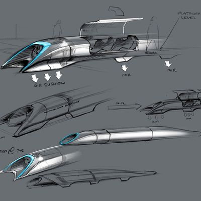 Proposal for a low pressure tube bullet train thingy that can travel over 1200km/h