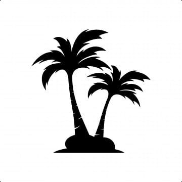 Palm Coconut Tree Logo Icon Coconut Tree Clipart Icon Leaf Png And Vector With Transparent Background For Free Download Tree Icon Tree Logos Vector Trees