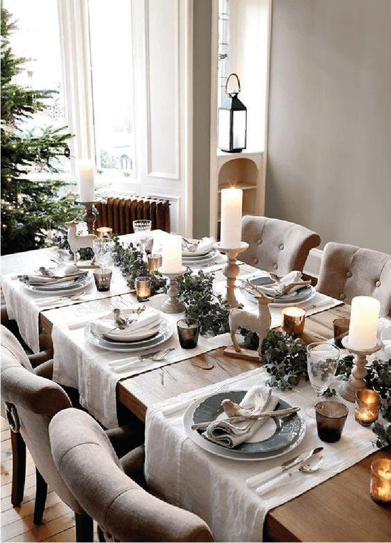 Christmas Table Decorations Centerpieces Christmas Table Centrepieces Christmas Tab Decoracion De Mesas Navidenas Decorar Mesas De Navidad Decoracion De Mesa
