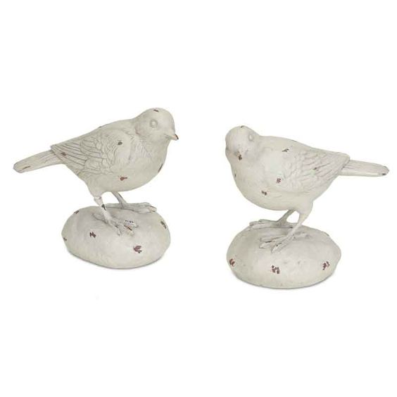 Large Stone Bird Décor, Set of 2 for $12.49  Visit http://cindyduke.athome.com