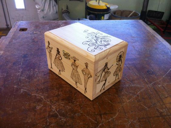 handmade small keepsake box