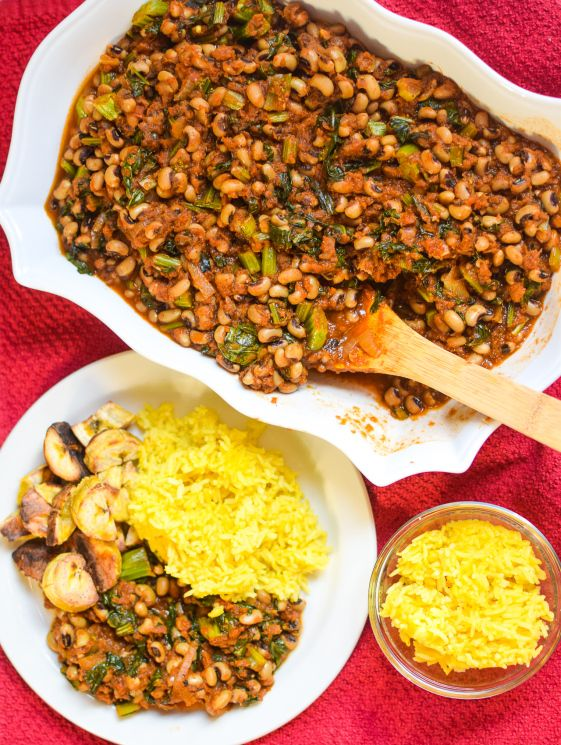 Ghanaian Vegan Red Red Stew No Palm Oil The Canadian African Recipe Bean Stew Spicy Recipes Lentil Recipes
