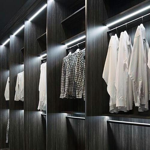 Top 50 Best Closet Lighting Ideas Illuminated Interiors Closet Lighting Ikea Wardrobe Wardrobe Lighting