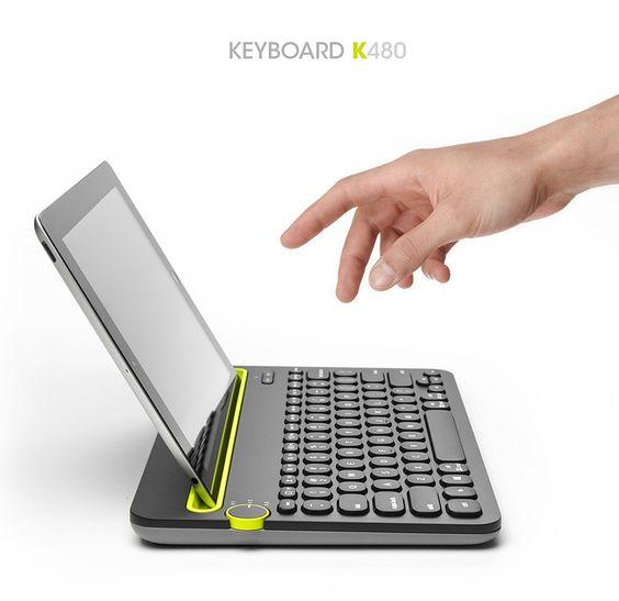 LOGITECH Keyboard K480 - RedDot Design Award 2015 on Behance