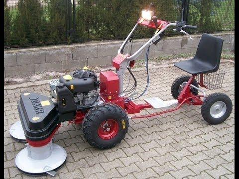 Panter Fd 3 Egytengelyes Traktor Dobos Kaszaval Es Vezetoulessel Youtube Small Tractors Yard Tractors Water Well Drilling Rigs