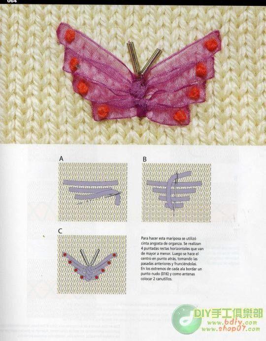 刺绣 针法 diy embroidery stitches patterns easy