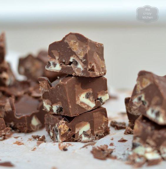 Cadbury Oreo & Daim Chocolate Fridge Cake