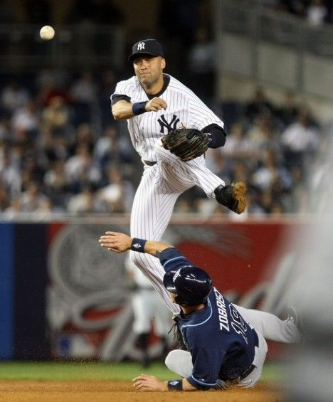 Derek Jeter of the New York Yankees is a legend in the making, both on and away from the baseball diamond.