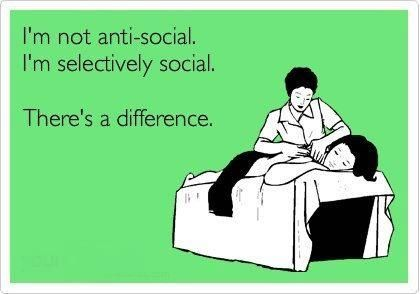 I'm a mom....so I'm busy and tired and social seems to hit the back burner a lot.  :o)