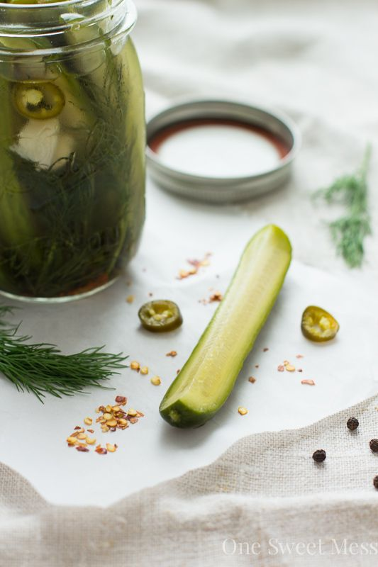 Add a spicy kick to your meal with @jlphaneuf's Spicy Refrigerator Pickles #OXOGreenSaver