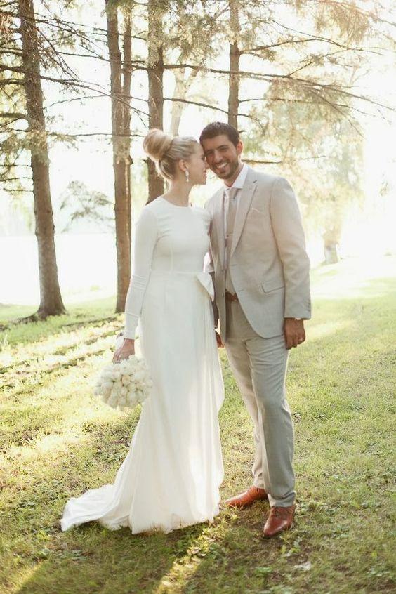Long Sleeve Rosa Clara Wedding Dress.