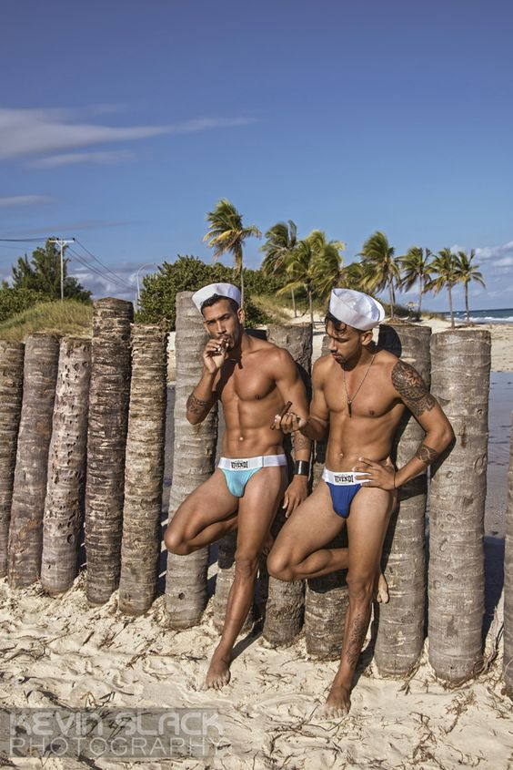modusvivendiunderwear: One more fantastic photo from Kevin Slack's shoot in Mi Cayito, Cuba with underwear by Modus Vivendi starring the Honeybrown twins Andro and Marlon.Photographer: Kevin SlackUnderwear: Modus Vivendi: