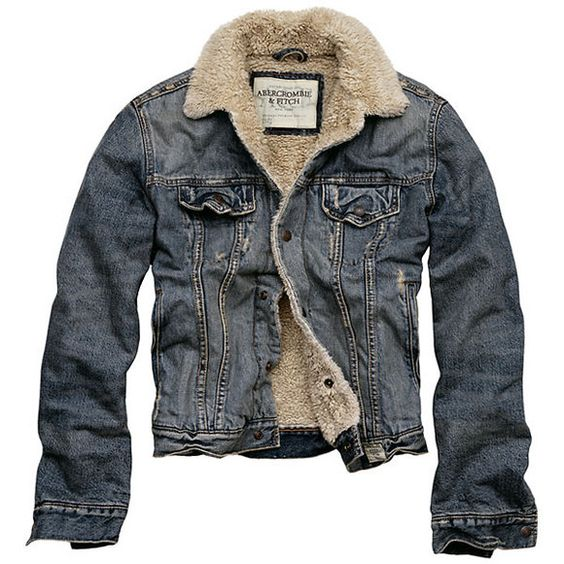Abercrombie u0026 Fitch Jeans Jacket | Style | Pinterest ...