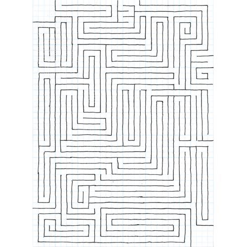 Learn to make a maze using graph paper! Super fun and easy! Original project by United Art & Education. Youtube link on project page.