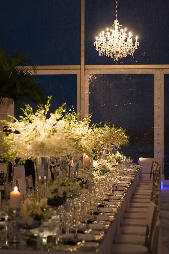 Table and Floral Design: William Steele