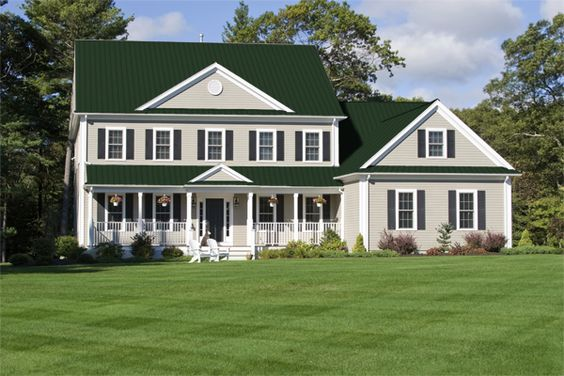 Best Green Metal Roof Google Search House Colors 400 x 300