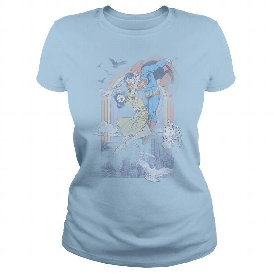 DC Rainbow Love T Shirts, Hoodies. Check price ==► https://www.sunfrog.com/Geek-Tech/DC-Rainbow-Love-LightBlue-Ladies.html?41382