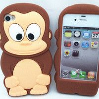Chocolate Monkey 3D Cute...