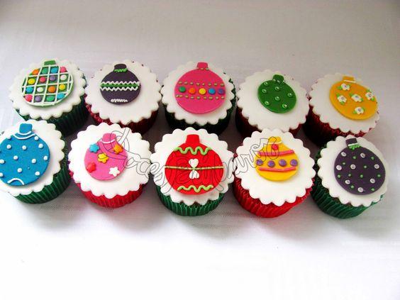 Doces Bárbaros: Novos cupcakes de Natal