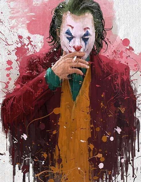 11 Wallpaper Joker Keren 3d 2019 Di 2020 Lukisan Wajah Seni