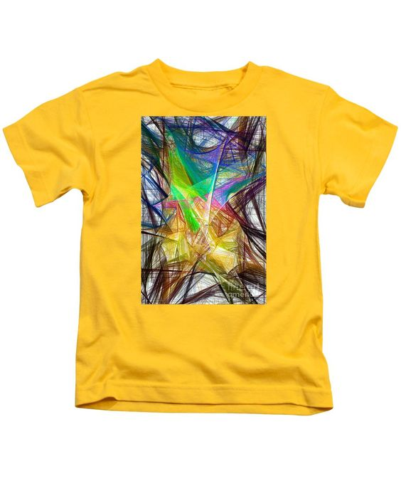 Kids T-Shirt - Abstract 9618