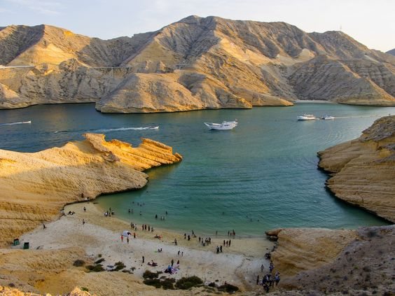 muscat beach | Andy in Oman