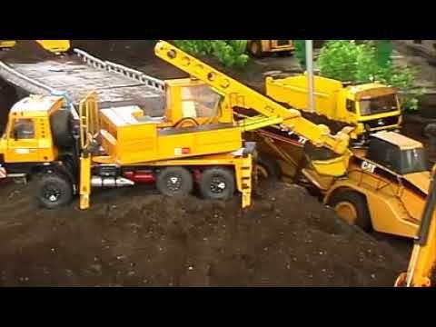 Excavator Beko Beem Panjang Loading Pasir Mobil Mainan Anak Mobil Mainan Anak Beko Excavator