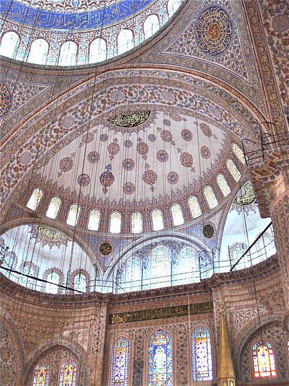 Blue Mosque (interior), Istanbul