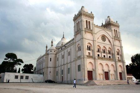 Catedral de San Luis en Cartago.Tunez.