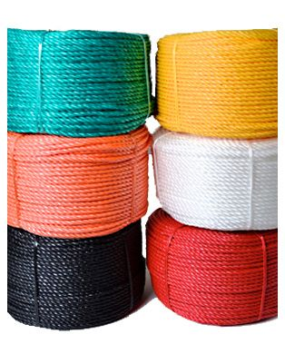 Coloured Everlasto Polypropylene Rope 6mm X 50m Polypropylene Rope Color