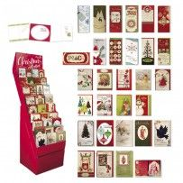 Wholesale Christmas gift cards -- embellished, boxed, handmade, and more