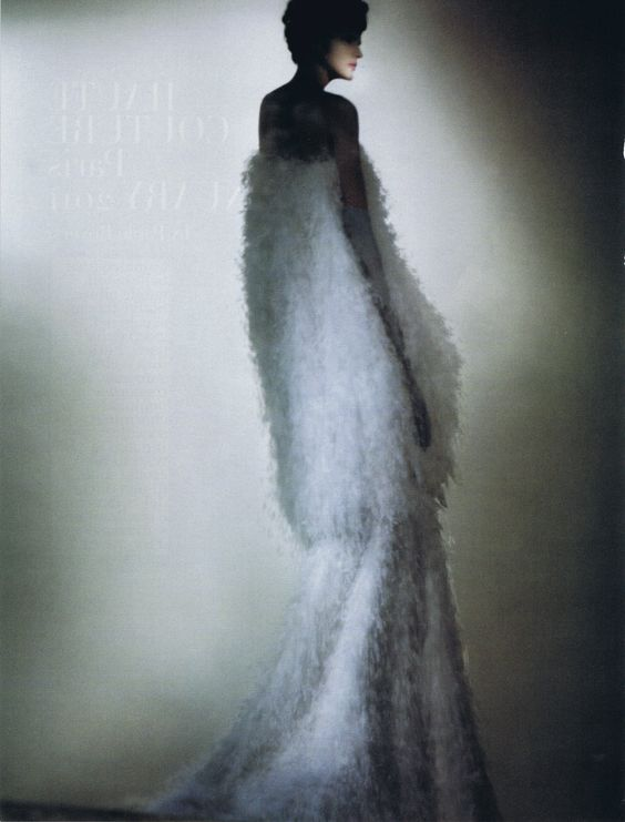 """Stella Tennant in """"Haute Couture Paris January 2011"""" by Paolo Roversi for Vogue Italia March 2011"""