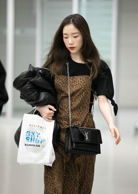 181215 Taeyeon Incheon Airport Kpop Fashion Celebrity Style Korean Celebrities