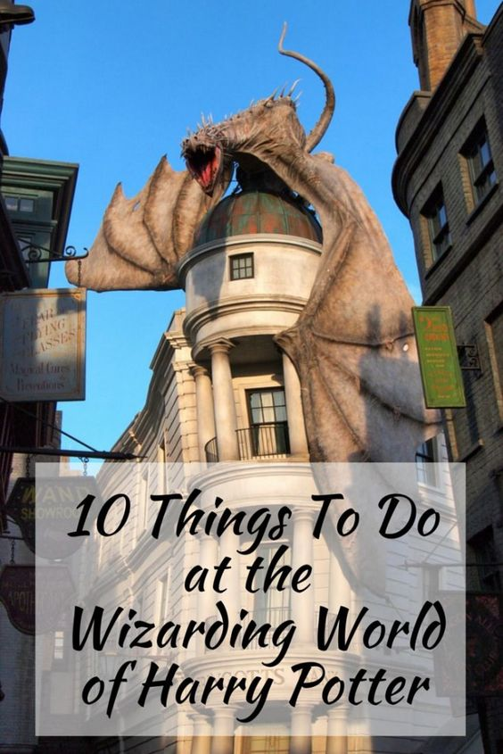 10 Things to Do at the Wizarding World of Harry Potter