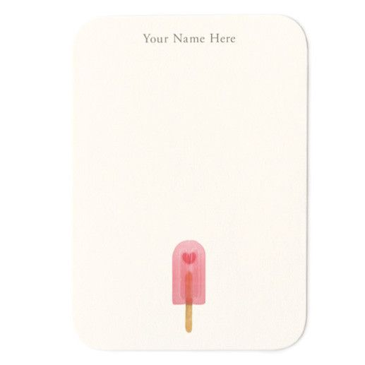 All Yours - Small Note Cards| Stationery