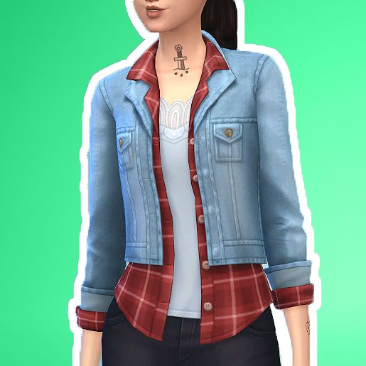 Sims 4 Cool Kitchen Stuff: Tops, Jackets And Game On Pinterest