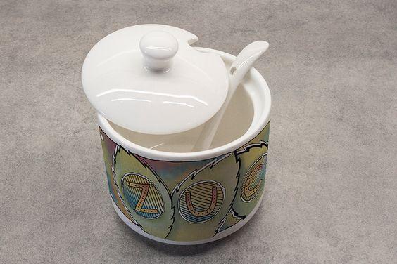 Zuckerdose aus Porzellan (www.keramiklich.de)