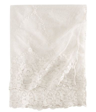 Lace Tablecloth from H&M Home http://www.hm.com/gb/product/66767?article=66767-A