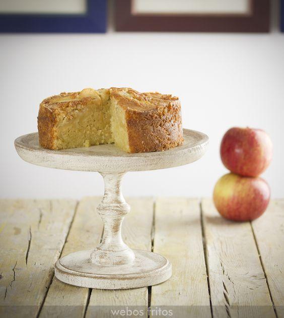 Te presento una receta de pastel de manzana de Normandía, muy sencillo y espectacular de rico.