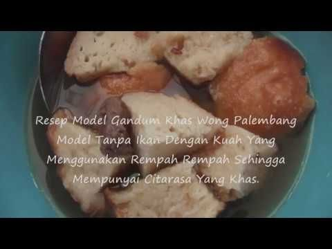 Resep Model Gandum Garing Khas Wong Palembang Youtube Palembang Cooking Food