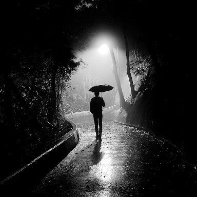 Walking Alone in the Rain | just walking in the rain ...