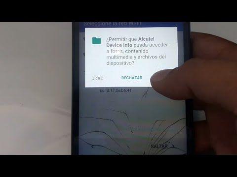 Alcatel Pixi 4 5012g Hard Reset Remover Contraseña Patrón Bloqueo Clave Alcatel Contraseñas Patrones