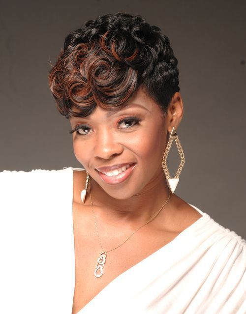Incredible African Americans American Shorts And Black Curly Hairstyles On Short Hairstyles For Black Women Fulllsitofus