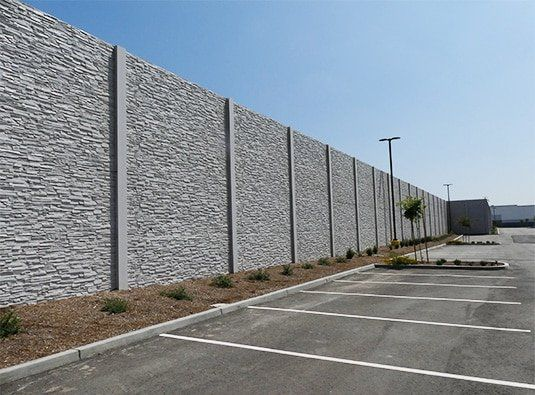 Precast Concrete Walls Concrete Fence Wall Backyard Fences Fence Design