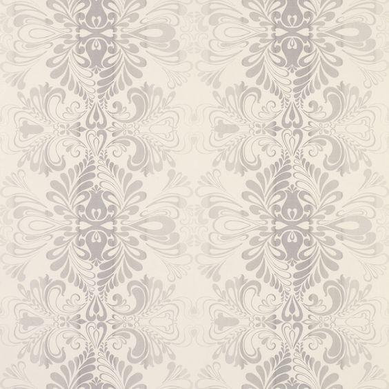 Gray cream wallpaper fwp pinterest nice the grey for Grey and cream wallpaper