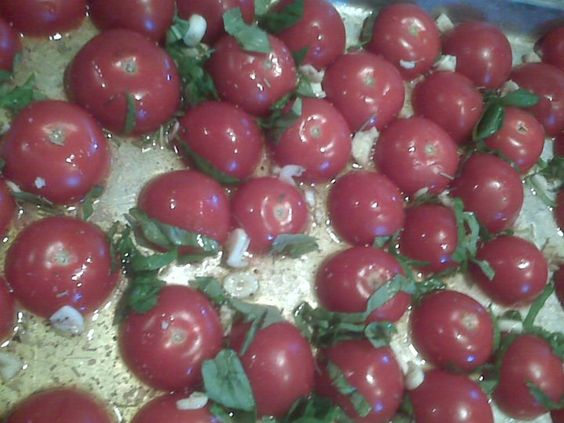 Tomatoes and Recipe on Pinterest