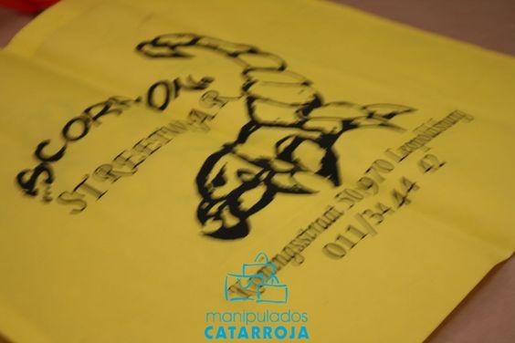 Bolsas de tela con logotipo